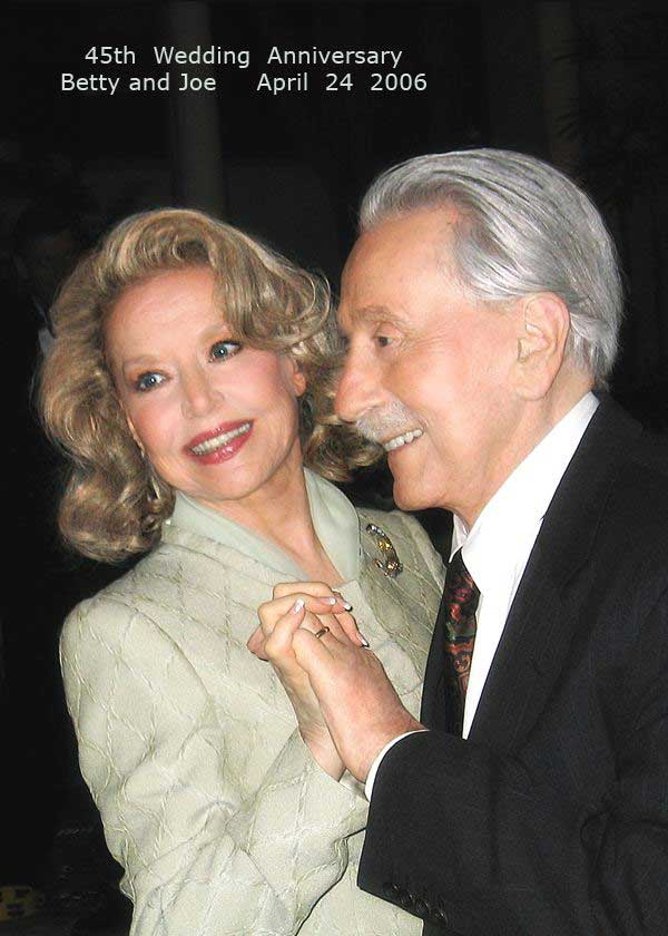 Joe Weider and his wife Betty