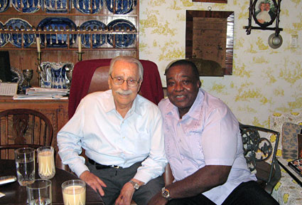 Joe Weider and Leroy Colbert