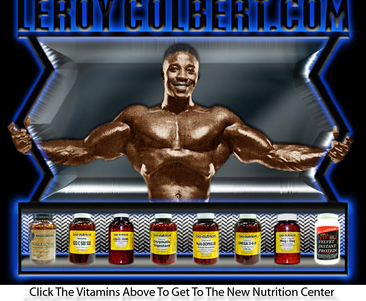 Leroy Colbert welcomes you to look around and don't forget to look at the no-hype recommended products that Leroy uses himself!